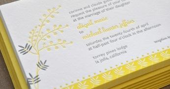 Letterpress-Delphine-Mimosa