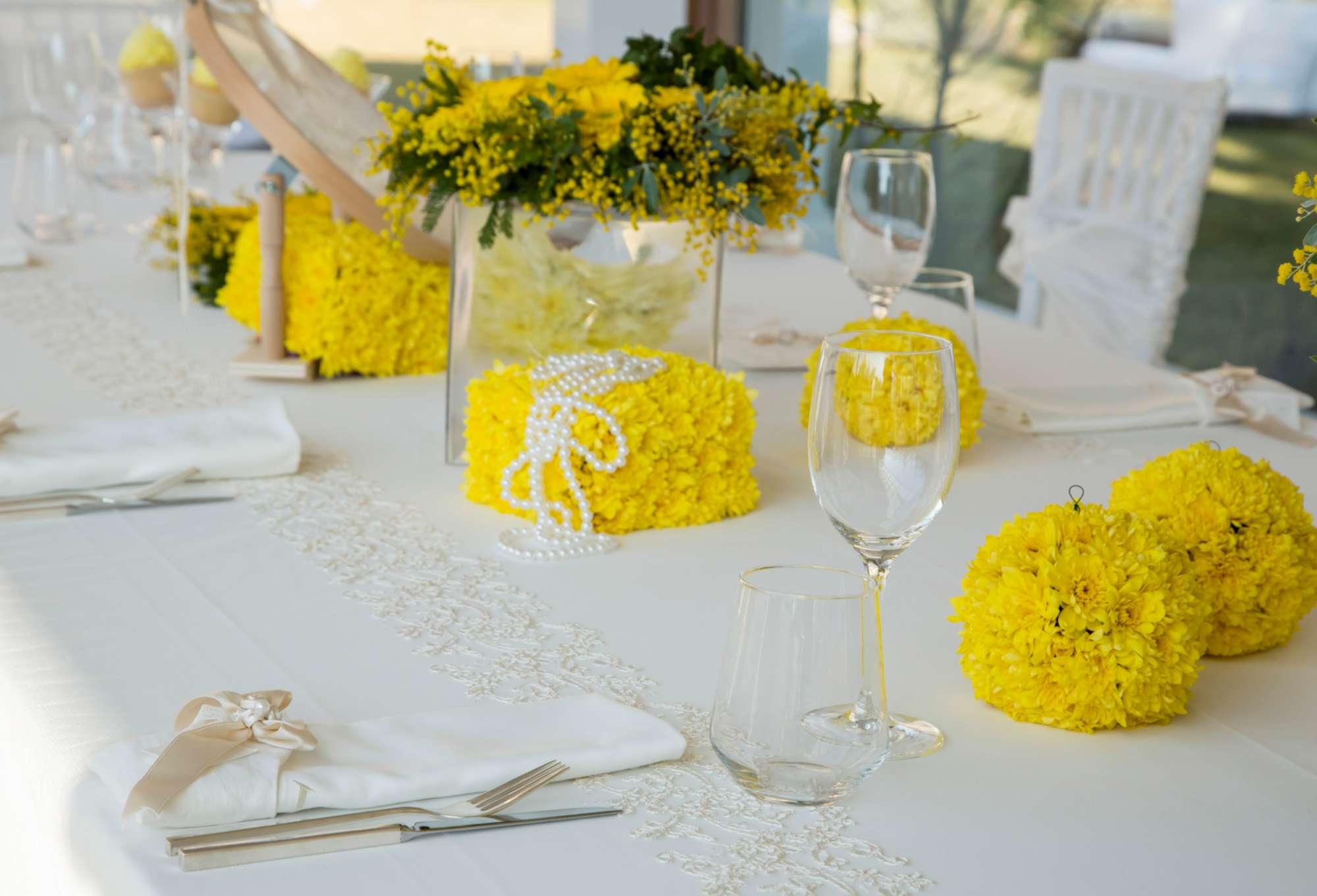 Matrimonio Tema Giallo : Matrimonio in giallo mimosa e festa della donna gocce